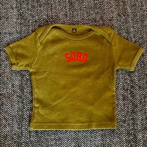 Savage London kids cool T-shirt size 6m